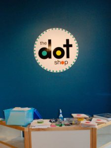 The Dot Shop will be open for business next week!
